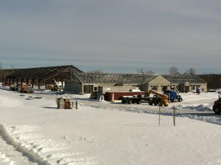 Border Patrol Station, Swanton, Vermont